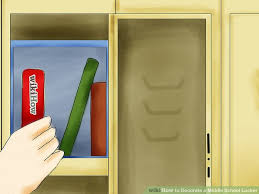 image titled decorate. Image Titled Decorate A Middle School Locker Step 05 On Decorations T
