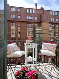Terrace and Garden: Summer Balcony Decor With Colorful Fabric - Summer  Balcony