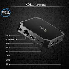 X96 MINI Android 7.1.2 Amlogic S905W 4K TV BOX 2GB/16GB