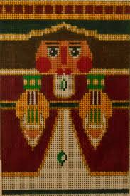 Image result for roll up nutcracker needlepoint