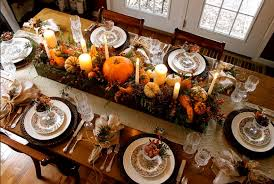 images of thanksgiving tables