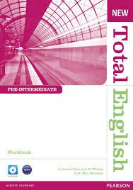 New <b>Total English</b> - <b>Workbook</b> and Audio CD (<b>Pre</b>-<b>Intermediate</b>) by ...