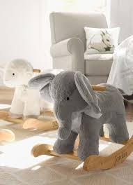 nursery elephant plush rocker baby nursery cool bee animal rocking horse