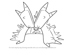 Small Picture Learn How to Draw Toxapex from Pokemon Sun and Moon Pokmon Sun