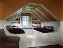Attic Playrooms Ideas |  Furniture Efficient Ideas for