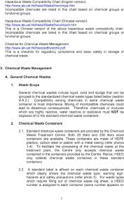 Chemical Compatibility Chart Pdf Procedures For Disposal Of Chemical Waste Pdf Free Download