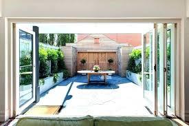 patio garage doors clear door for cost all code how to genie remote