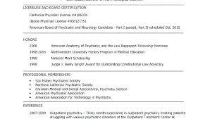 Medical School Resume Format Inspirational Graduate School Resume