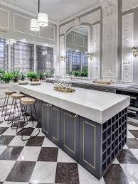 Marble Floor In Kitchen 36 Marvellous Marble Kitchens That Spell Luxury