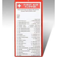 How To Create A Flip Chart First Aid Flip Chart For School Home Office