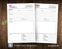 Order Form Word Template Awesome Order Form Wholesale Order Form Template Ms Word Order Form Etsy