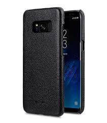melkco premium leather case for samsung galaxy s8 snap cover black lc