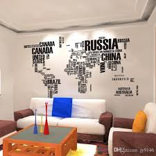 giant wall decals world map large wall sticker decals creative giant wall stickers for living room giant wall decals
