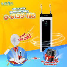 Máy lọc nước Karofi Optimus O-S139-NS