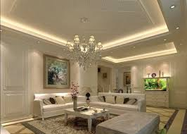 drawing room lighting. Living Room Ceiling Design Ideas Suspended Hidden Lighting Crystal\u2026 Drawing