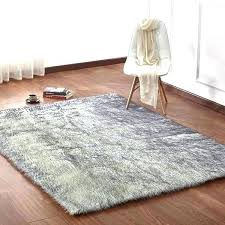 black faux fur rug black faux sheepskin rug white solid fur area with suede backing