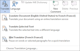 Text Document Translate Text Into A Different Language Office Support