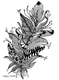 Free Coloring Page Coloring Zentangle By