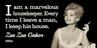 Zsa Zsa Gabor Quotes Interesting Famous Quote 48 Zsa Zsa Gabor Quotes