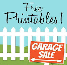 free garage sale signs free printables garage sale signs price tags craigslist garage