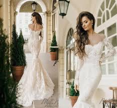 Milla Nova 2016 New Fashion Full Lace Dubai Arabic Off Shoulder