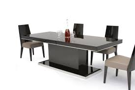 black lacquer dining room furniture. b131t modern noble lacquer dining table black room furniture r