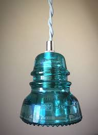 Glass Insulator Lights Etsy Pin By Glass Insulator Lights On Insulator Pendant Lights In