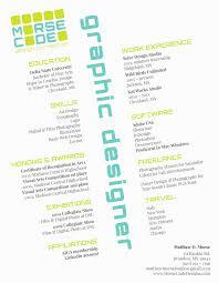 Creative Graphic Design Resumes Graphic Design Resume Samples Luxury Creative Graphic Design Resumes 16