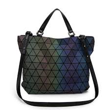 Japanese Designer Bag Geometric Amazon Com Geometry Womens Handbags Sac Japan Luminous
