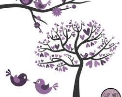 purple love birds clipart. Exellent Clipart Inside Purple Love Birds Clipart