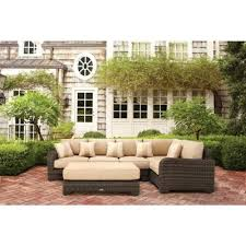 outdoor sectional home depot. Brown Jordan Northshore Patio Corner Sectional Chair In Harvest With Regency Wren Outdoor Throw Pillow -- - The Home Depot