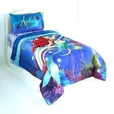 little mermaid bedding the little id bedding set twin medium size of comforter queen the little