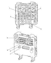 Junction block relays circuit breaker for 2006 jeep liberty i2101585 electrical junction block relays circuit breakerhtml