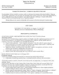 resume objective marketing resume objective marketing makemoney alex tk