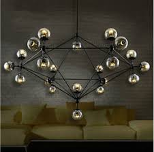 modern artistic modo magic bean pendant lights lustres dna glass ball pendant lamps home decorative light fixture luminaire artistic lighting fixtures