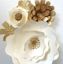 diy giant wall flower decor paper flower wall decor large backdrop by paperfl on articles with