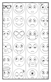 Small Picture 293 best color me emoji images on Pinterest Coloring books