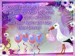Baby Congrats Note To Proud New Parents Free New Baby Ecards Greeting Cards 123
