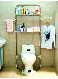 bathroom shelving over toilet bathroom rack over toilet two level metal organizer over the toilet bathroom bathroom shelving over toilet