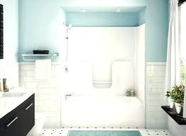 how to replace a shower pan with tile large size of install fiberglass awesome diy