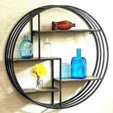 circular shelf unit cool round wall shelf wood circle full size of circular rustic metal hobby circular shelf unit wall shelf circular metal