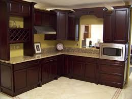 Models Brown Painted Kitchen Cabinets Paint I Also Like This In Impressive Ideas