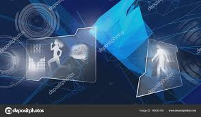 Human Design Composite Digital Composite Human Health Fitness Interface Shapes