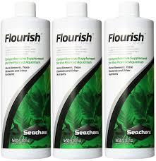 Seachem Planted Aquarium Dosing Chart Seachem Flourish 500ml