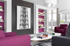 Purple Floating Shelves Interesting Living Room Shelves Living Room Contemporary With Floating Shelves