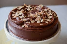Gluten Free Chocolate & Almond Cake