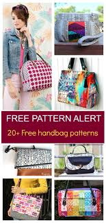 Handbag Patterns Amazing FREE PATTERN ALERT 48 Handbag Sewing Patterns On The Cutting