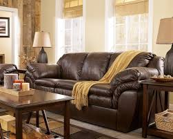 brown leather living room furniture. Harness Brown Contemporary Faux Leather Living Room Furniture
