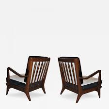 livingroom gio ponti chairs furniture cassina armchair molteni chair model london pair of walnut lounge