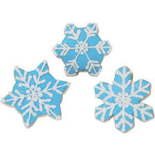 Snowflake Cookies Winter Party Favors Cookies By Design